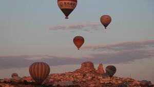 Kapadokyayı kasım ayında 203 bin 905 turist ziyaret etti