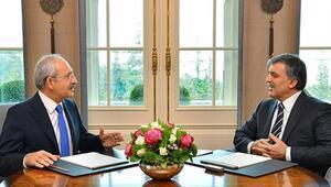 Kemal Kılıçdaroğlu Abdullah Gülle görüştü