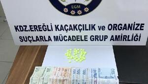 Zonguldakta uyuşturucu operasyonunda 4 kişi tutuklandı