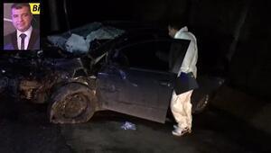 Bartın Vali Yardımcısı, trafik kazasında hayatını kaybetti