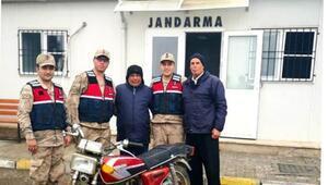 Gaziantepten 4 yıl önce çalınan motosiklet Kiliste bulundu