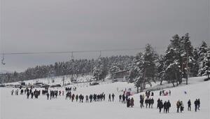 Sarıkamış Kayak Merkezinde yeni sezon açıldı