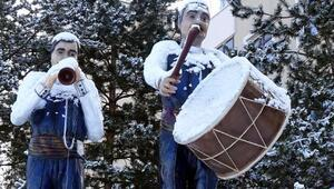 Erzurum ve Kars, beyaza büründü
