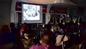 Gençlik Merkezinde sinema keyfi