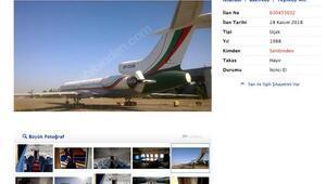 Sahibinden satılık uçak, yolcu gemisi