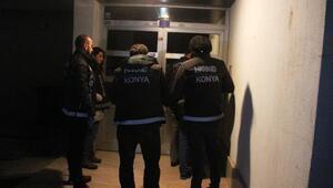 Konya merkezli iki ilde uyuşturucu operasyonu: 4 gözaltı