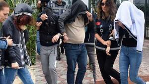 Antalyada swinger operasyonu 6 erkek, 5 kadın...