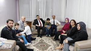 Şanlıurfa Valisinden şehit ailesine ziyaret