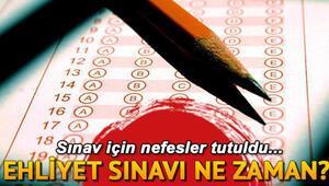 Ehliyet sınavı ne zaman Örnek ehliyet sınavı soruları
