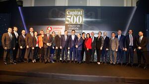 'Türkiyenin En Büyük 500 Özel Şirketi için ödül töreni