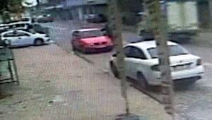 Caddedeki cinayet güvenlik kamerasında