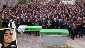 Hollanda'da öldürülen Hümeyra, Karaman'da son yolculuğuna uğurlandı
