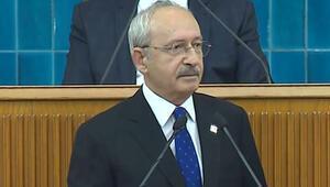 Son dakika: Kılıçdaroğlu CHP grup toplantısında konuştu