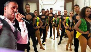Kolombiyalı dansçılar ülkelerine döndü