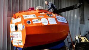 Kapsül içinde Atlas Okyanusunu geçmeye hazırlanıyor