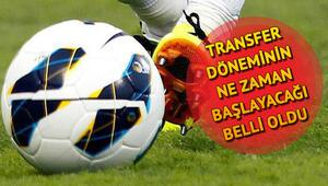 Transfer sezonu ne zaman başlıyor 2018-2019 ara transfer dönemi