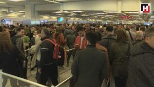 Atatürk Havalimanından 3 günde 419 bin yolcu geçti