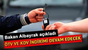 ÖTV ve KDV indirimi uzatıldı mı Hangi ürünlerde geçerli olacak