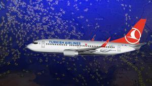 THYnin 5 seferinde yolcular yeni yılı iki kere kutladı