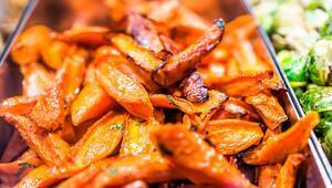 Fırında Balzamik Soslu Tatlı Patates