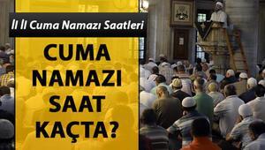 Diyanet cuma namazı vakitleri | İstanbulda cuma namazı saat kaçta
