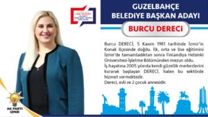 AK Parti Güzelbahçe Belediye Başkan Adayı Burcu Dereci kimdir