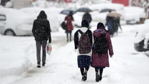 Hangi illerde okullar tatil edildi İşte kar tatili olan iller