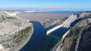 GAPa hayat veren baraj yağışa doydu