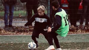 Beşiktaş U11in yıldızı göz kamaştırıyor