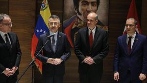 Cumhurbaşkanı Yardımcısı Oktay Venezuelada