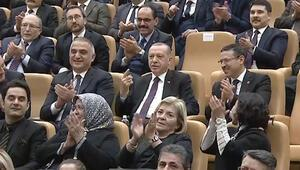 Cumhurbaşkanı Erdoğan ödül töreninde konuştu