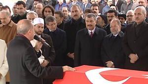 Erdoğan eski milletvekili Aksakın cenazesine katıldı