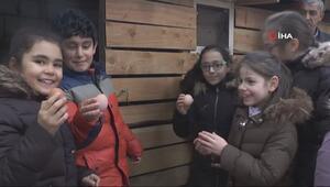 Bu okulda öğrenciler teneffüste bakın ne yapıyor