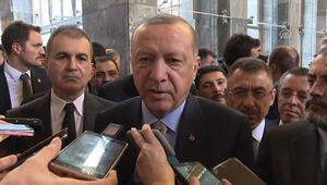 Cumhurbaşkanı Erdoğandan güvenli bölge açıklaması