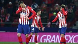 Atletico Madride kupa şoku