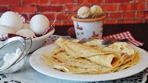 Krep nasıl yapılır Kahvaltılık krep tarifi