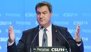 CSU'nun yeni lideri Markus Söder oldu