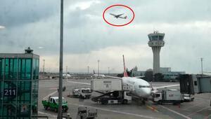 Atatürk Havalimanı'nda 3 uçak pisti pas geçti…