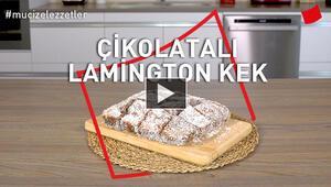 Çikolatalı Lamington Kek