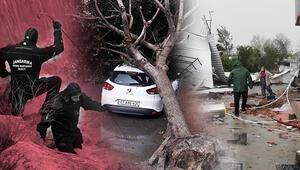 Antalya felaketi yaşadı Zarar çok büyük