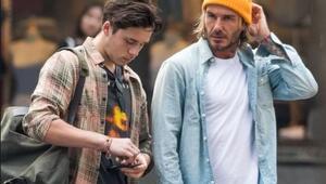 Beckham ateş püskürdü Oğlumun peşini bırak