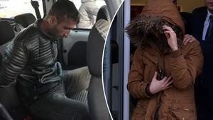 Banka görevlisini bıçakla rehin alan soyguncu tutuklandı