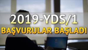 2019 YDS başvuruları ÖSYM tarafından başlatıldı... YDS başvurusu nasıl yapılır