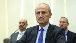 Bakan Turhan: Türk firmaları projeyi en kısa sürede tamamlayacaktır
