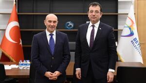 CHP izmir Adayı Tunç Soyerden Ekrem İmamoğluna destek ziyareti