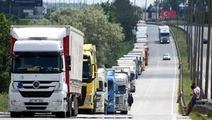 Yolcular en çok 'Sarp'ı, araçlar 'Kapıkule'yi kullandı