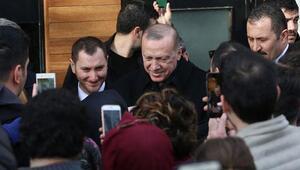 Erdoğandan vatandaşlarla samimi sohbet