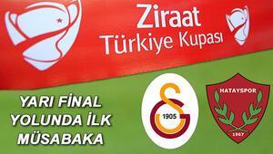 Galatasaray Hatayspor Türkiye Kupası maçı saat kaçta ve hangi kanaldan canlı yayınlanacak