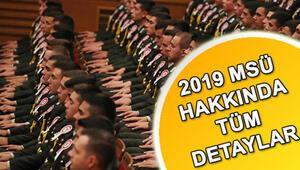 2019 MSÜ başvuruları için son gün ne zaman İşte subaylık sınavı için ücretin yatırılacağı bankalar