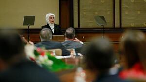 Emine Erdoğan ABD Delegasyonu'nu kabul etti